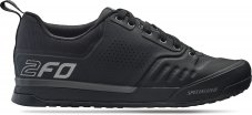 2FO Flat 2.0 Mountain Bike Shoes 2020 - Black 43