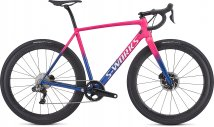 S-Works CruX 2019 - Gloss Acid Pink/Chameleon/Metallic White Silver/Clean 58