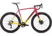S-Works CruX 2020 - GLOSS GOLDEN YELLOW/VIVID PINK/BLACK 56