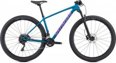 Dámské horské kolo Specialized Women's Chisel Comp 2019 - Satin Gloss Marine Blue/Acid Purple M