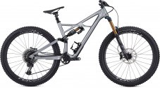 S-Works Enduro 29 2019 - Gloss Flake Silver Form Fade/Tarmac Black M