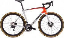 S-Works Roubaix - Shimano Dura-Ace Di2 2020 - Gloss Dove Gray/Rocket Red/Black 54