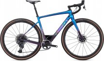 S-Works Diverge - SRAM eTap AXS 2020 - Gloss Chameleon-Sunset Chameleon Fade/Holographic Black Clean 48