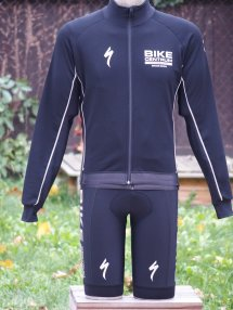 Bunda BC Racing Winter - Black matt / Reflective